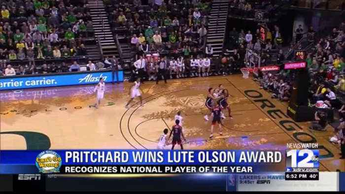 Payton Pritchard earns Lute Olson Player of the Year Award