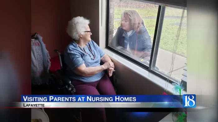 Visitors get creative while going to nursing homes
