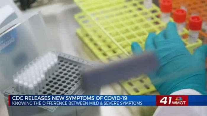 CDC identifies new severe symptoms for COVID-19