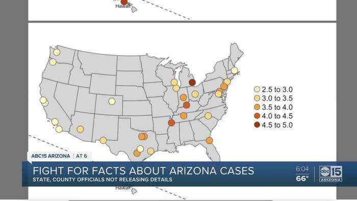 Fighting for facts in Arizona about coronavirus