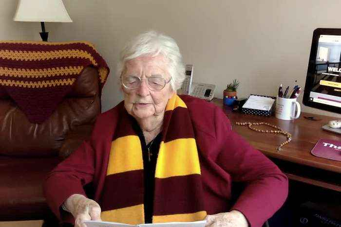 A Message Of Reassurance From Sister Jean