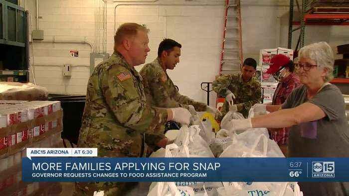More families applying for SNAP benefits across Arizona