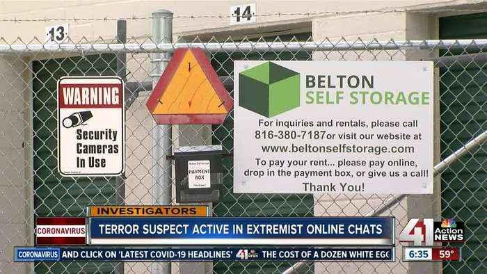 FBI domestic terrorism suspect frequented neo-Nazi chatrooms