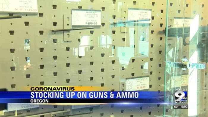 Gun sales surge amid coronavirus concerns
