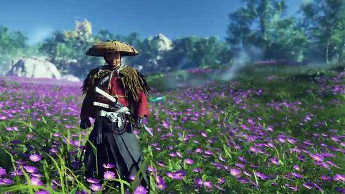 Ghost of Tsushima Gameplay - Customization and - One News Page VIDEO