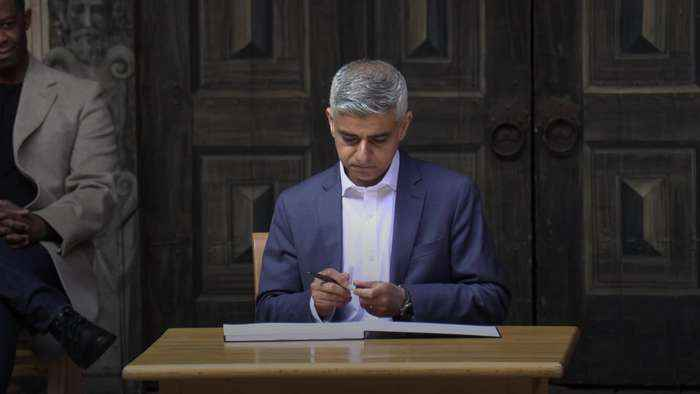 Sadiq Khan 'humbled' by Mayoral win