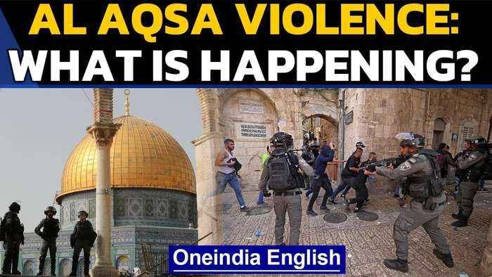 Al Aqsa violence: Israel launches retaliatory air strikes | Oneindia News