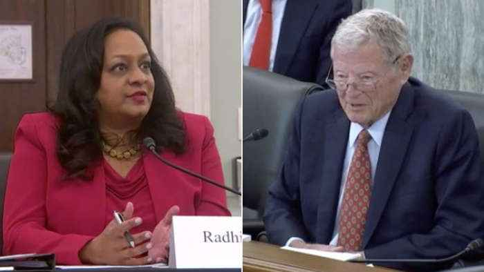 'If you don't behave, I'm going to talk to your daddy': Inhofe tells EPA nominee