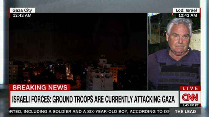 Israeli Defense Forces announce ground troops currently attacking in Gaza