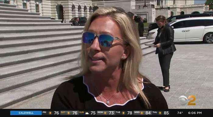 Republican Marjorie Taylor-Greene Reportedly Accuses Democrat Alexandria Ocasio-Cortez Of Supporting Terrorists