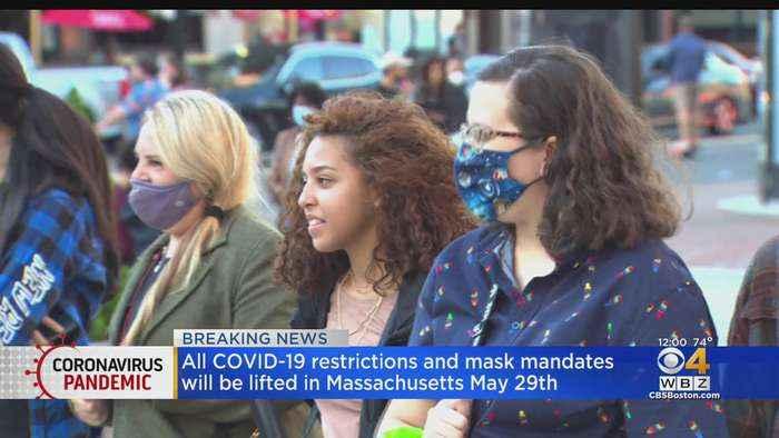 Baker Ending All Remaining COVID Restrictions, Mask Mandate In Massachusetts On May 29