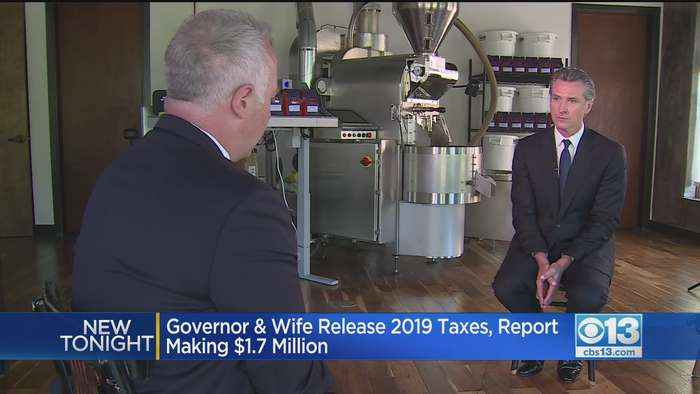 Newsom's Income Increased During First Year As California Governor