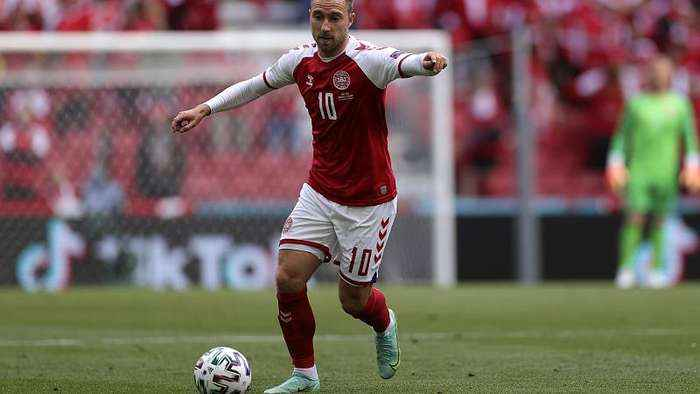 Christian Eriksen: Fans relieved that Danish player 'stable' in hospital but await more news
