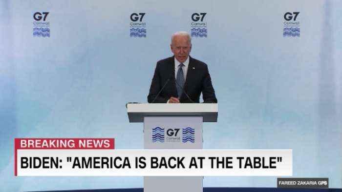 On GPS: President Biden's maiden G7