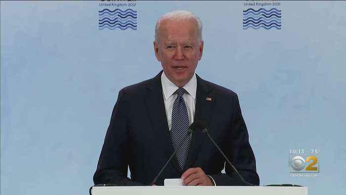 President Biden Looks Ahead To Meeting With Vladimir Putin