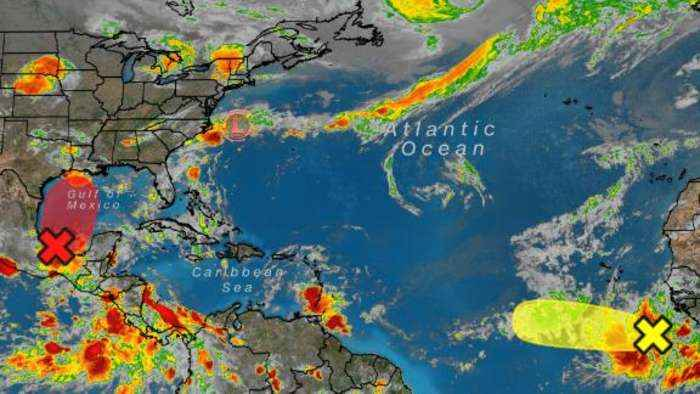 There are now three systems to track in the Atlantic