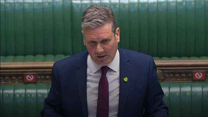 Starmer claims Prime Minister's borders indecision has 'blown' Covid-19 road map