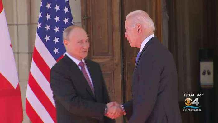 President Biden Meets Putin
