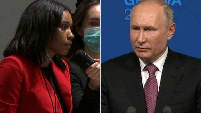 'What are you so afraid of?': Journalist presses Putin on political opposition