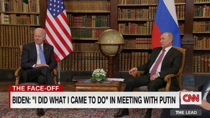 Biden: 'I think there's a genuine prospect to significantly improve' U.S.-Russia relations