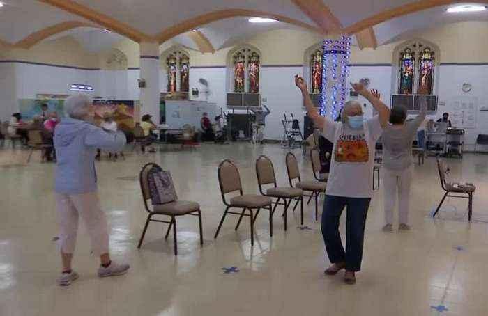 Elderly New Yorkers rejoice as senior centers reopen