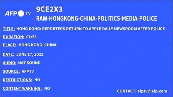 Arrestation du PDG de Apple Daily à Hong-Kong (LP+) (1)