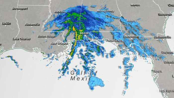 Tropical Storm Claudette forms and makes landfall