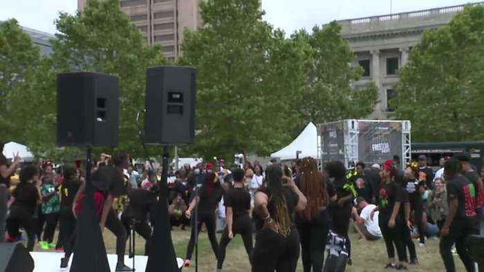 Juneteenth festival in Cleveland