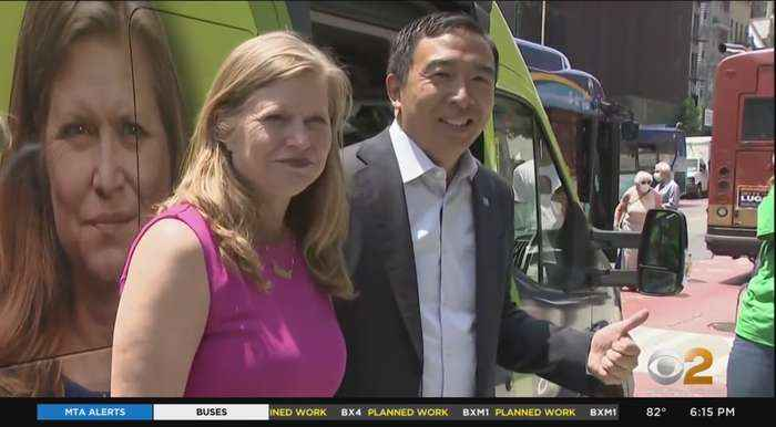 Kathryn Garcia, Andrew Yang Join Forces On Campaign Trail For Final Days Of Early Voting