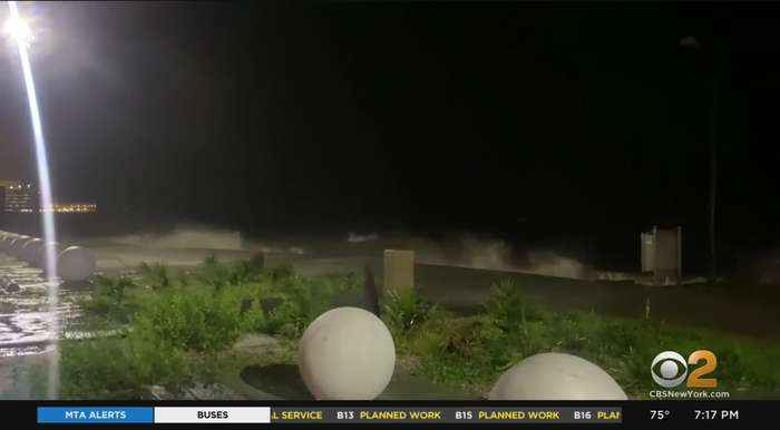 Tropical Storm Claudette Hits With High Winds, Heavy Rain