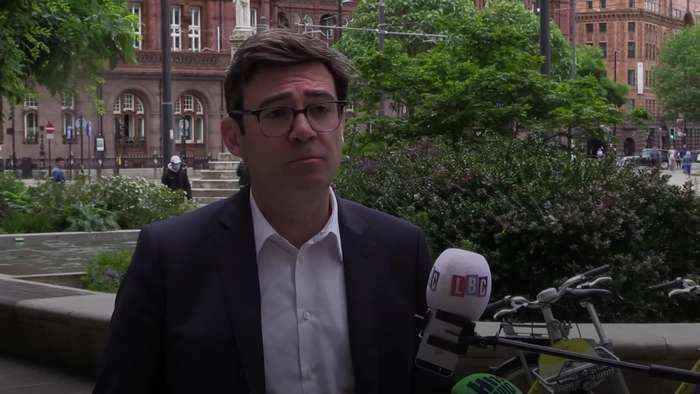 Andy Burnham's anger over Manchester-Scotland travel ban intensifies