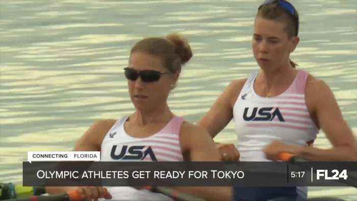 Olympic rowers hold last practice in Sarasota