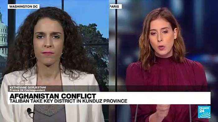 Taliban take key Afghan district in Kunduz province
