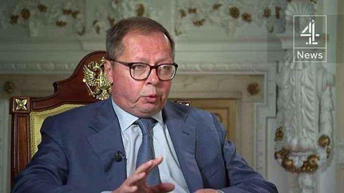 Ambassador: Royal Navy ship was 'deep' in Russian waters