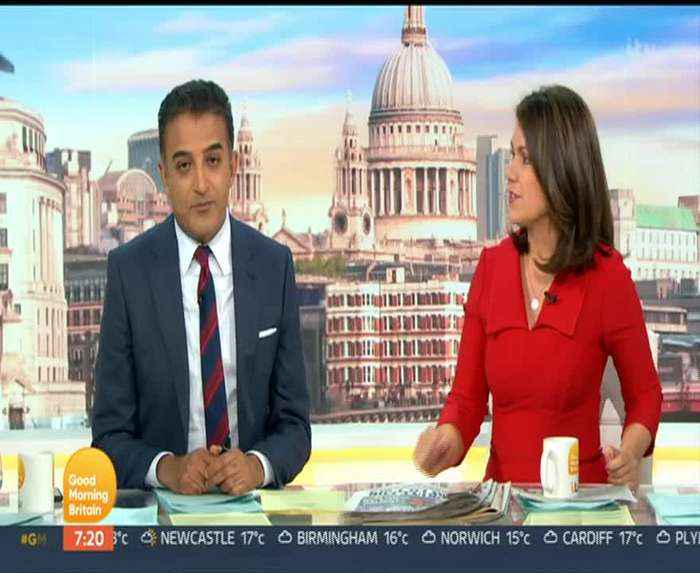 Ranvir Singh gets a shock from her son on Good Morning Britain