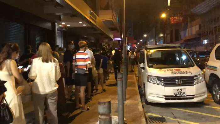Timelapse reveals lengthy queues as Hong Kong's Apple Daily sells its final edition