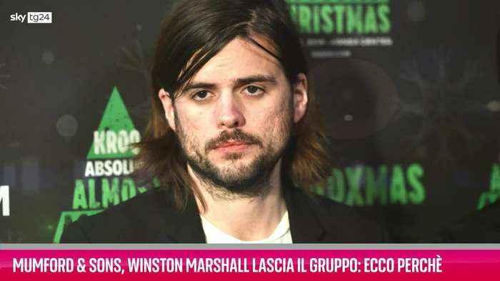 VIDEO Mumford & Sons, Winston Marshall ha lasciato il gruppo: ecco perché
