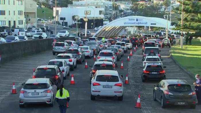 Parts of Sydney set for lockdown amid coronavirus surge