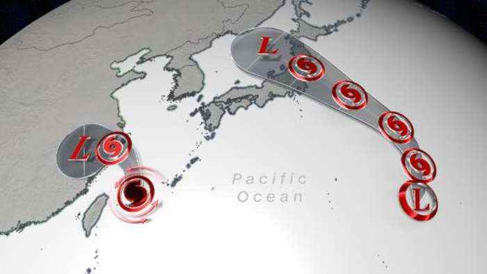 Tropical trouble looms for China and Japan