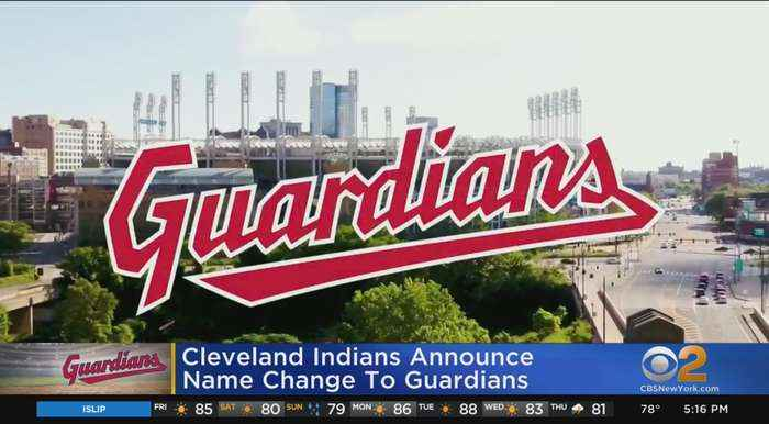 Cleveland Indians Announce Name Change To Guardians