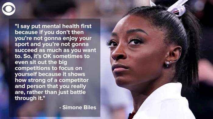 WEB EXTRA:  Simone Biles Puts 'Mental Health FIrst'