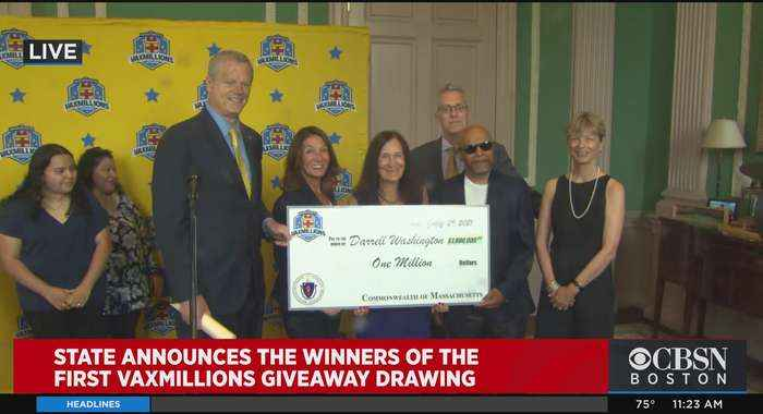 Weymouth Man, Chelsea Teen First Winners In Massachusetts VaxMillions Giveaway