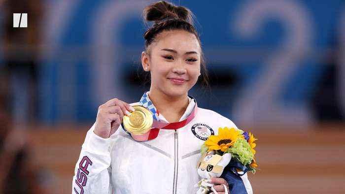 U.S. Gymnast Sunisa Lee Wins Gold!
