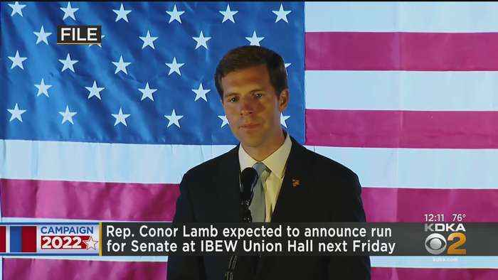 Rep. Conor Lamb Expected To Announce Candidacy For U.S. Senate