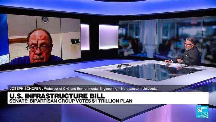US senators upbeat on prospects for $1 trillion bipartisan infrastructure bill