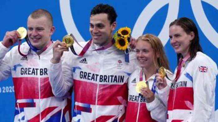 GB swimming squad most successful since 1908