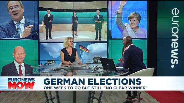 German elections: 'One week to go but still no clear winner'