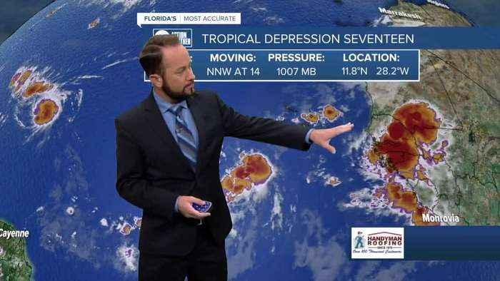 Tracking the Tropics   September 19 morning update