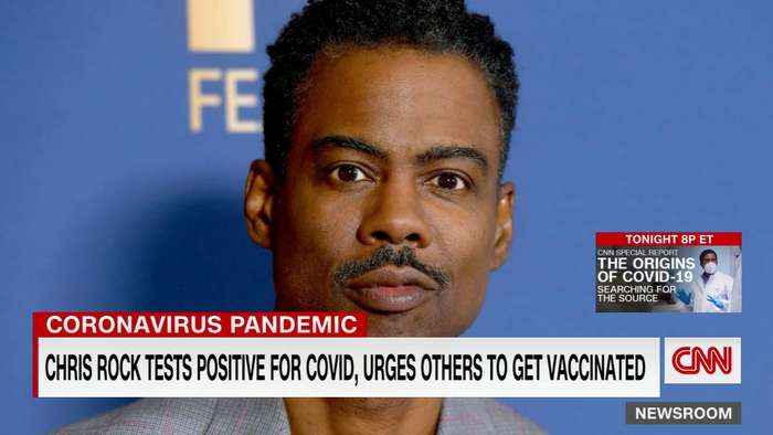 Chris Rock encourages vaccines after his positive Covid-19 test