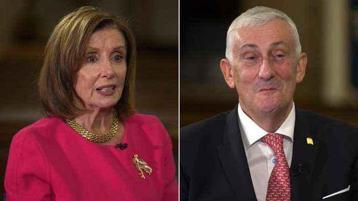 Nancy Pelosi asked about special relationship with the UK